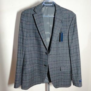 New! S. Cohen Wool&Cashmere Logan Check Jacket